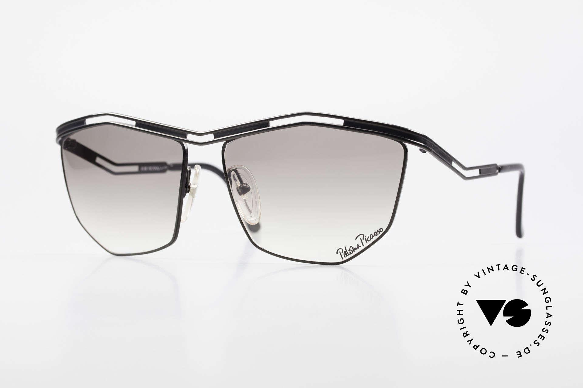 Paloma Picasso 1478 90er Sonnenbrille für Damen, vintage Designersonnenbrille von Paloma Picasso, Passend für Damen