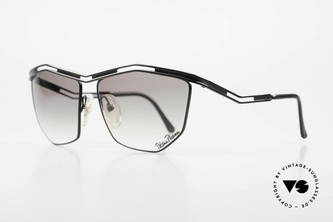 Paloma Picasso 1478 90er Sonnenbrille für Damen, sie entwarf 1990 diese großartige Brillenkollektion, Passend für Damen