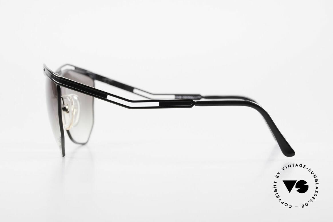 Paloma Picasso 1478 90er Sonnenbrille für Damen, tolle Farben, Formen und Muster = Designerbrillen, Passend für Damen