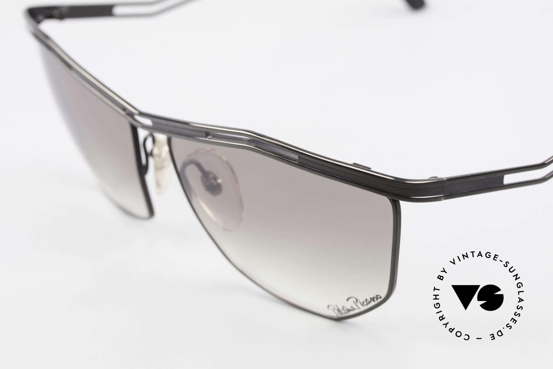 Paloma Picasso 1478 90er Sonnenbrille für Damen, zudem ist das Brillen-Etui als Geldbörse nutzbar!, Passend für Damen