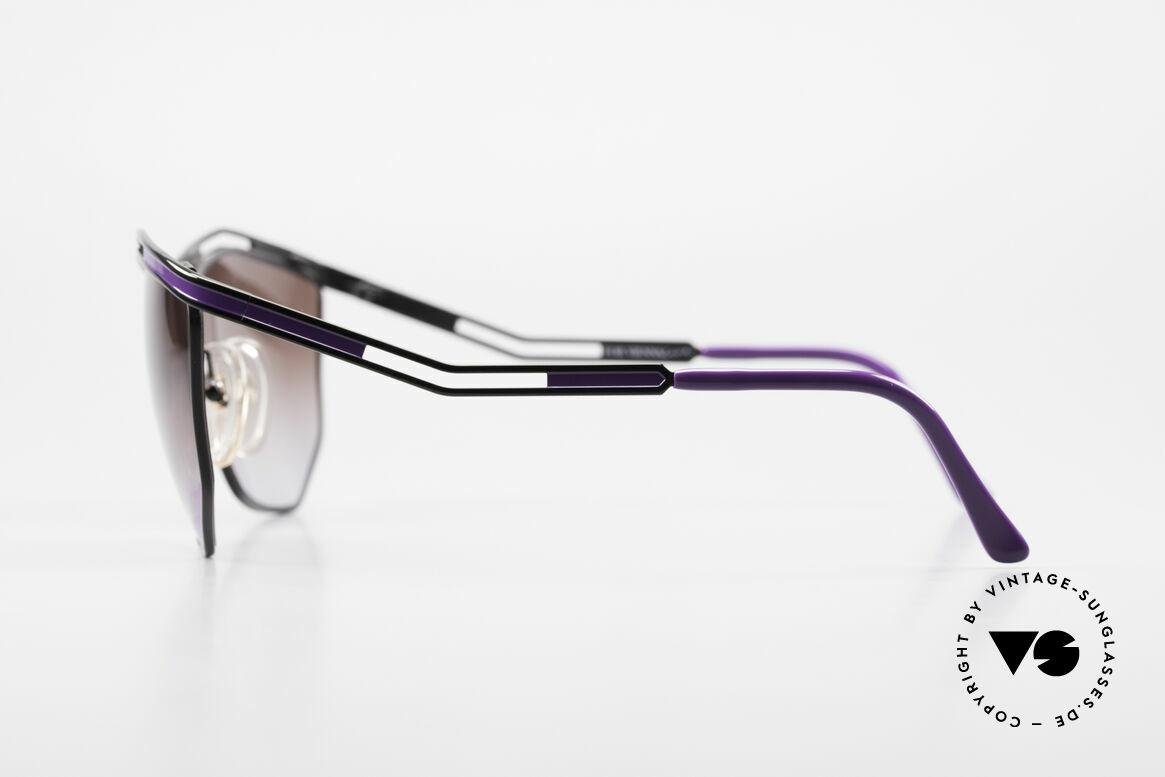 Paloma Picasso 1478 Rare 90er Damen Sonnenbrille, tolle Farben, Formen und Muster = Designerbrillen, Passend für Damen