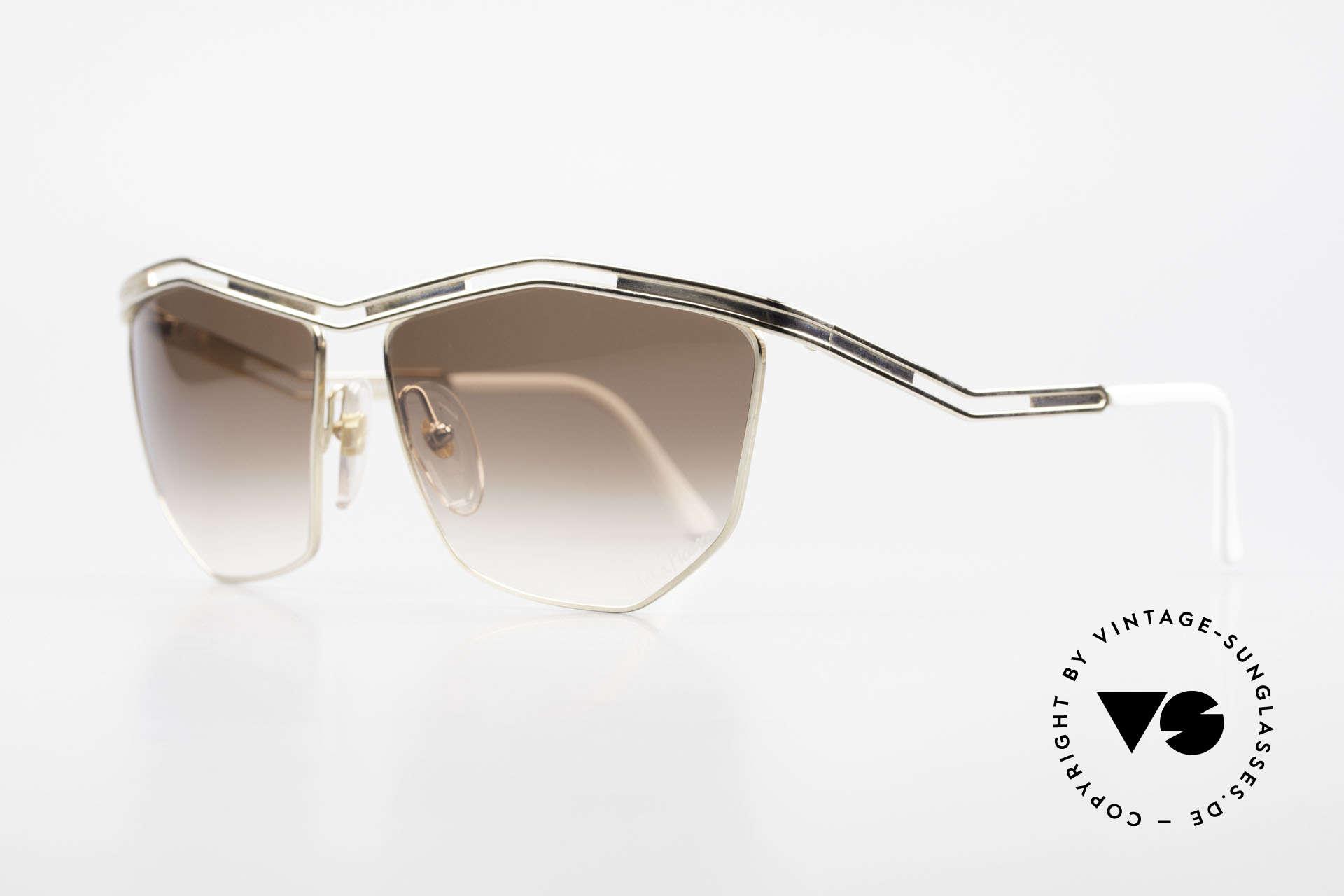Paloma Picasso 1478 Keine Retrobrille 90er Original, sie entwarf 1990 diese großartige Brillenkollektion, Passend für Damen