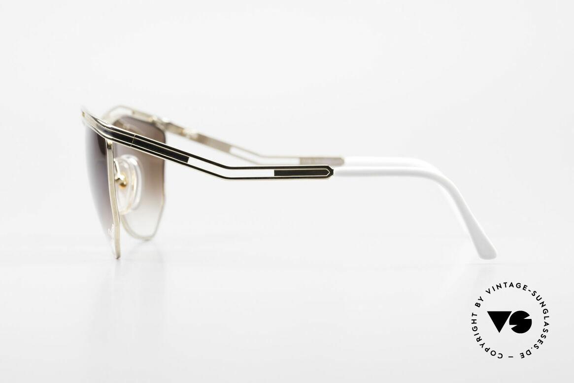 Paloma Picasso 1478 Keine Retrobrille 90er Original, tolle Formen, Muster & vergoldet = Designerbrillen, Passend für Damen