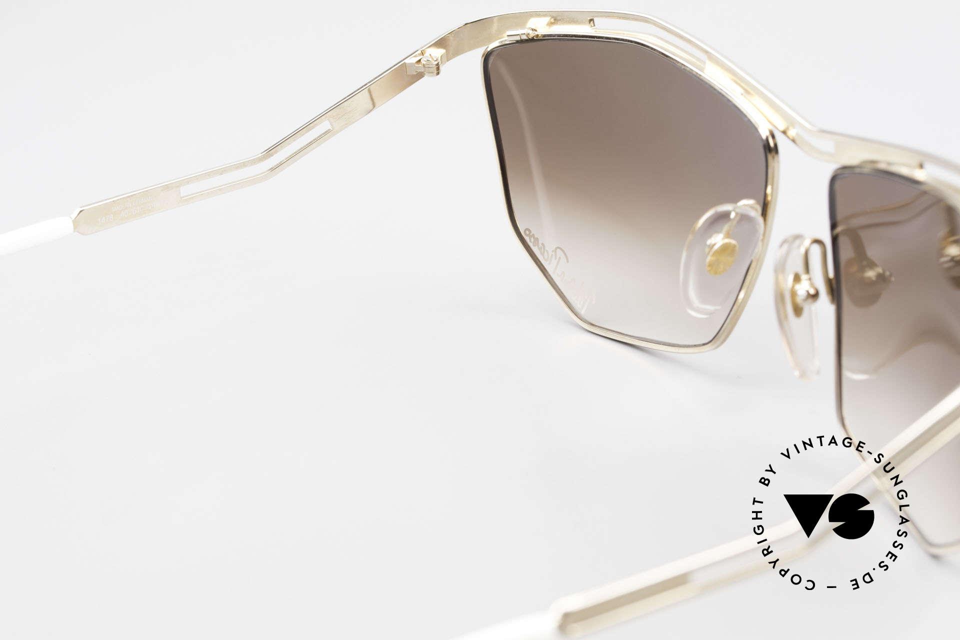 Paloma Picasso 1478 Keine Retrobrille 90er Original, KEINE Retrosonnenbrille; eine 30 Jahre alte Rarität, Passend für Damen
