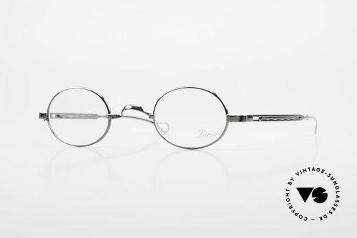 Lunor I 22 Telescopic Ovale Brille Schiebebügel Details