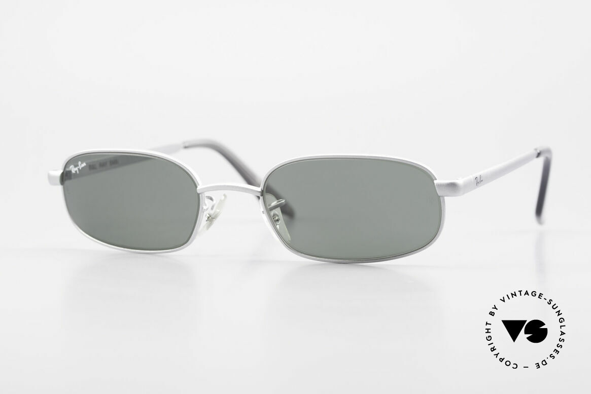 Ray Ban Sidestreet Sidewalk Rectangle Ray-Ban USA Brille, alte Ray-Ban 'SideStreet-Series' Sonnenbrille von 1999, Passend für Herren
