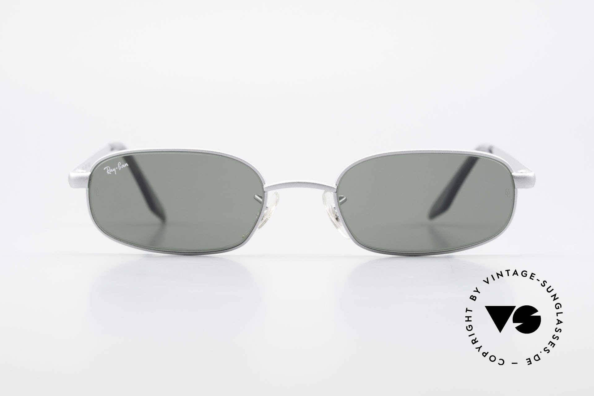 Ray Ban Sidestreet Sidewalk Rectangle Ray-Ban USA Brille, eines der letzten Modelle noch von Bausch&Lomb, USA, Passend für Herren