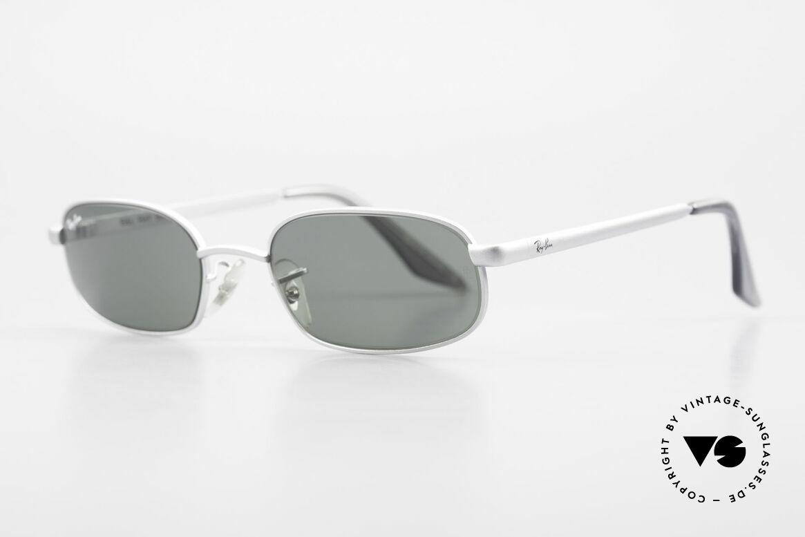 Ray Ban Sidestreet Sidewalk Rectangle Ray-Ban USA Brille, 1999 wurde RAY-BAN von B&L and Luxottica verkauft, Passend für Herren