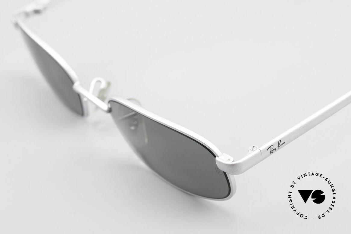 """Ray Ban Sidestreet Sidewalk Rectangle Ray-Ban USA Brille, Qualität noch """"made in USA"""" (Gläser mit B&L Gravur), Passend für Herren"""