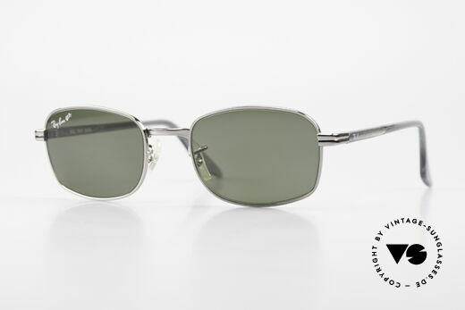 Ray Ban Sidestreet Crosswalk Square Polarisierende Brille Details