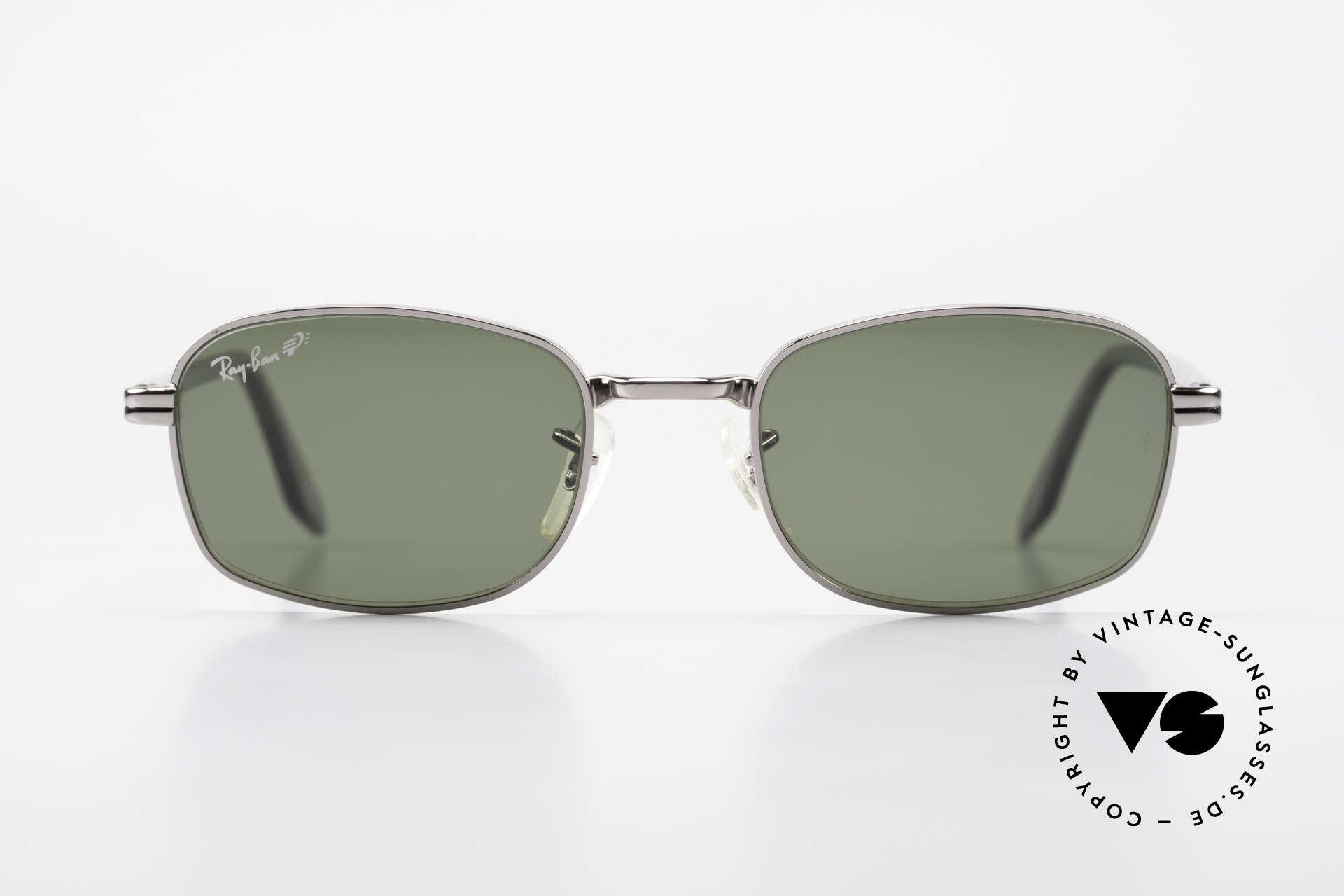 Ray Ban Sidestreet Crosswalk Square Polarisierende Brille, eines der letzten Modelle noch von Bausch&Lomb, USA, Passend für Herren