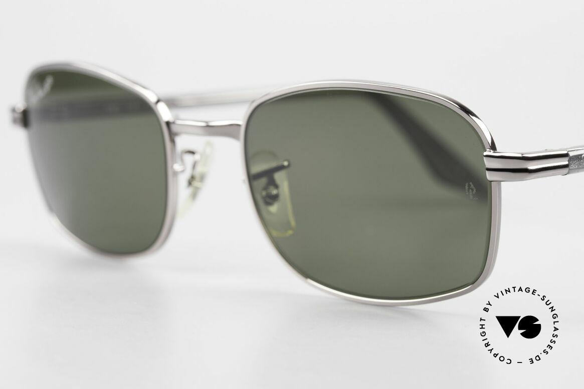 Ray Ban Sidestreet Crosswalk Square Polarisierende Brille, interessant; da ein Stück (Wirtschaft) Zeitgeschichte, Passend für Herren