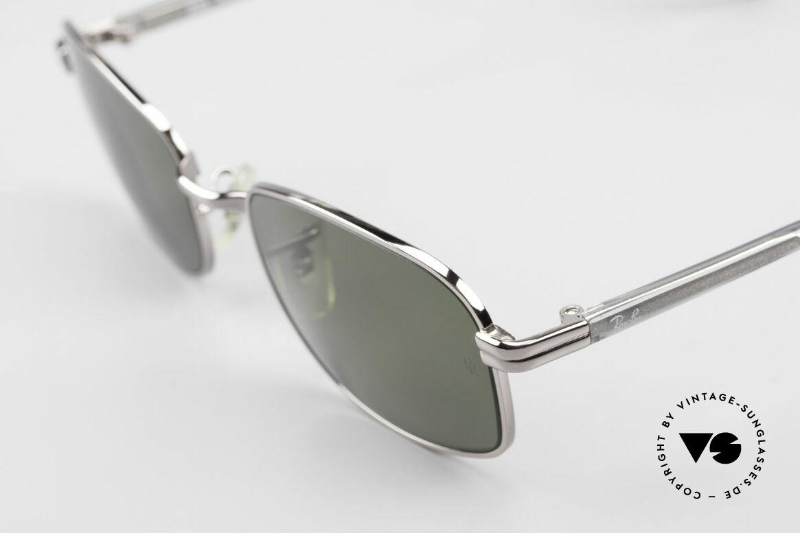 """Ray Ban Sidestreet Crosswalk Square Polarisierende Brille, Qualität noch """"made in USA"""" (entspiegelte B&L Gläser), Passend für Herren"""