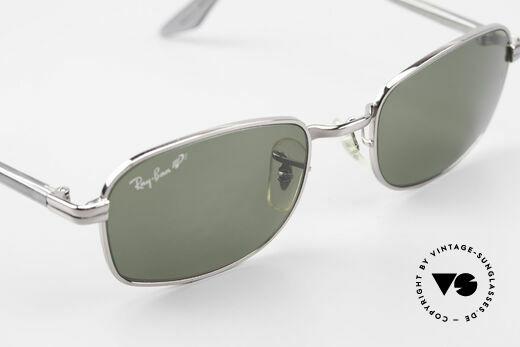 Ray Ban Sidestreet Crosswalk Square Polarisierende Brille, ungetragen, Side Street Crosswalk Square Polar. W2898, Passend für Herren
