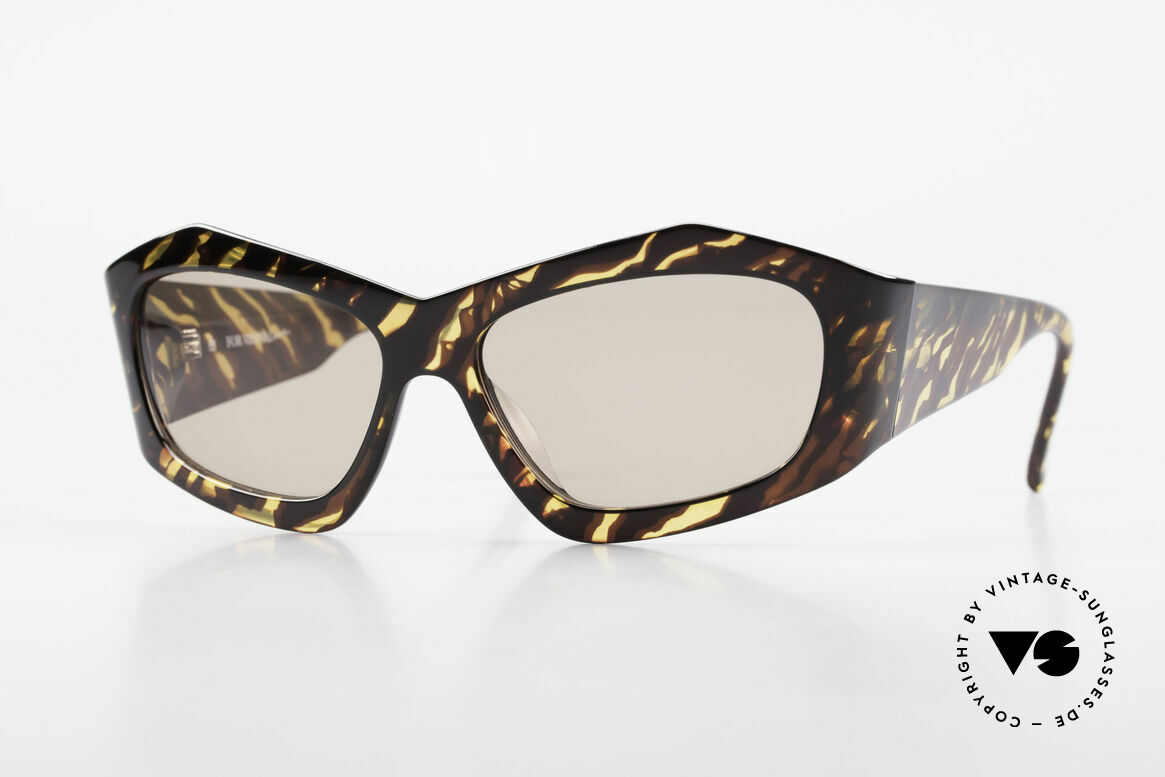 Paloma Picasso 1461 Vintage 90er Portemonnaie Etui, 90er Jahre Paloma Picasso Designer-Sonnenbrille, Passend für Damen