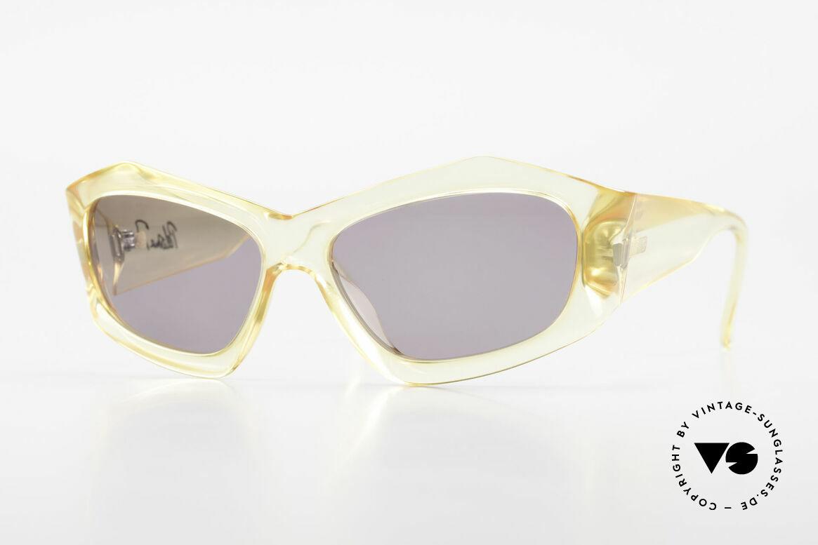 Paloma Picasso 1461 90er Vintage Etui als Geldbörse, 90er Jahre Paloma Picasso Designer-Sonnenbrille, Passend für Damen