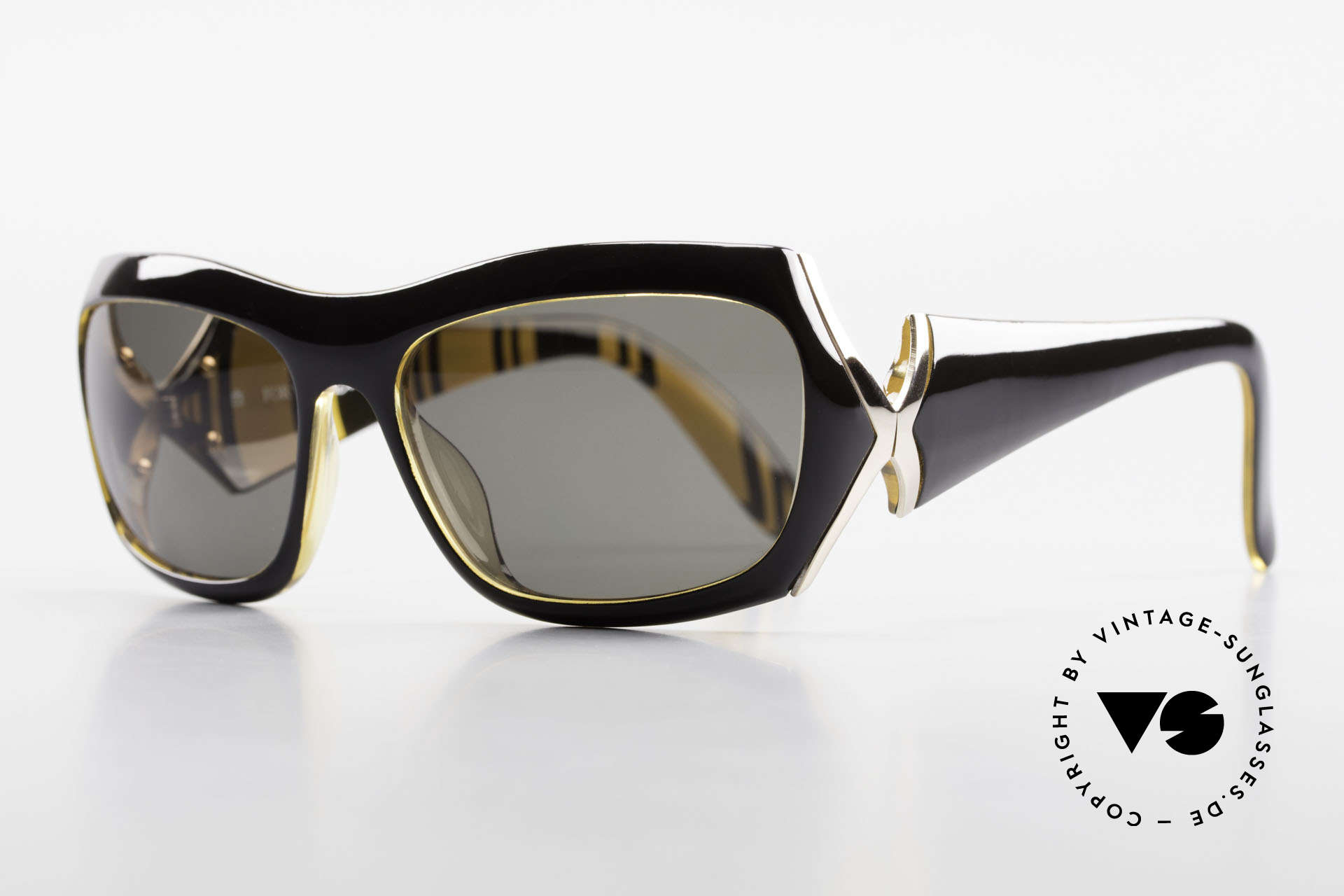 Paloma Picasso 3700 Designer Damen Sonnenbrille, noch ein Meisterwerk vom Künstler-Haus Picasso!, Passend für Damen
