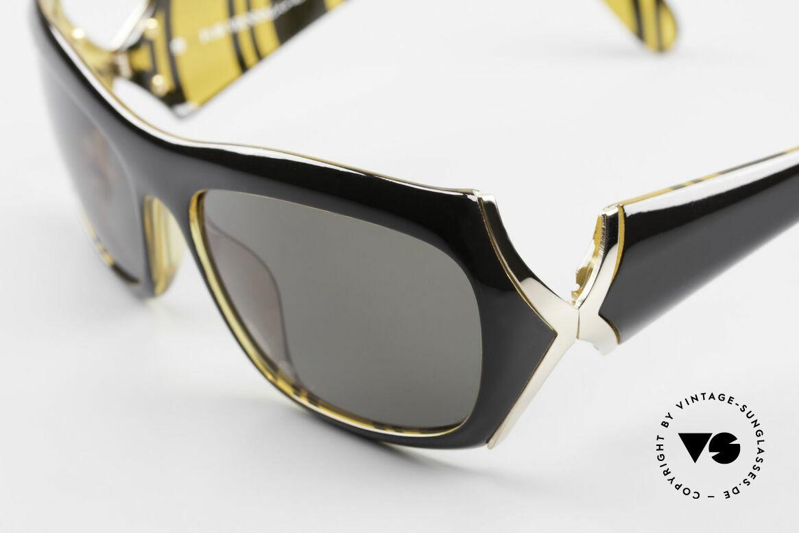 Paloma Picasso 3700 Designer Damen Sonnenbrille, das Etui kann auch als Geldbörse benutzt werden, Passend für Damen