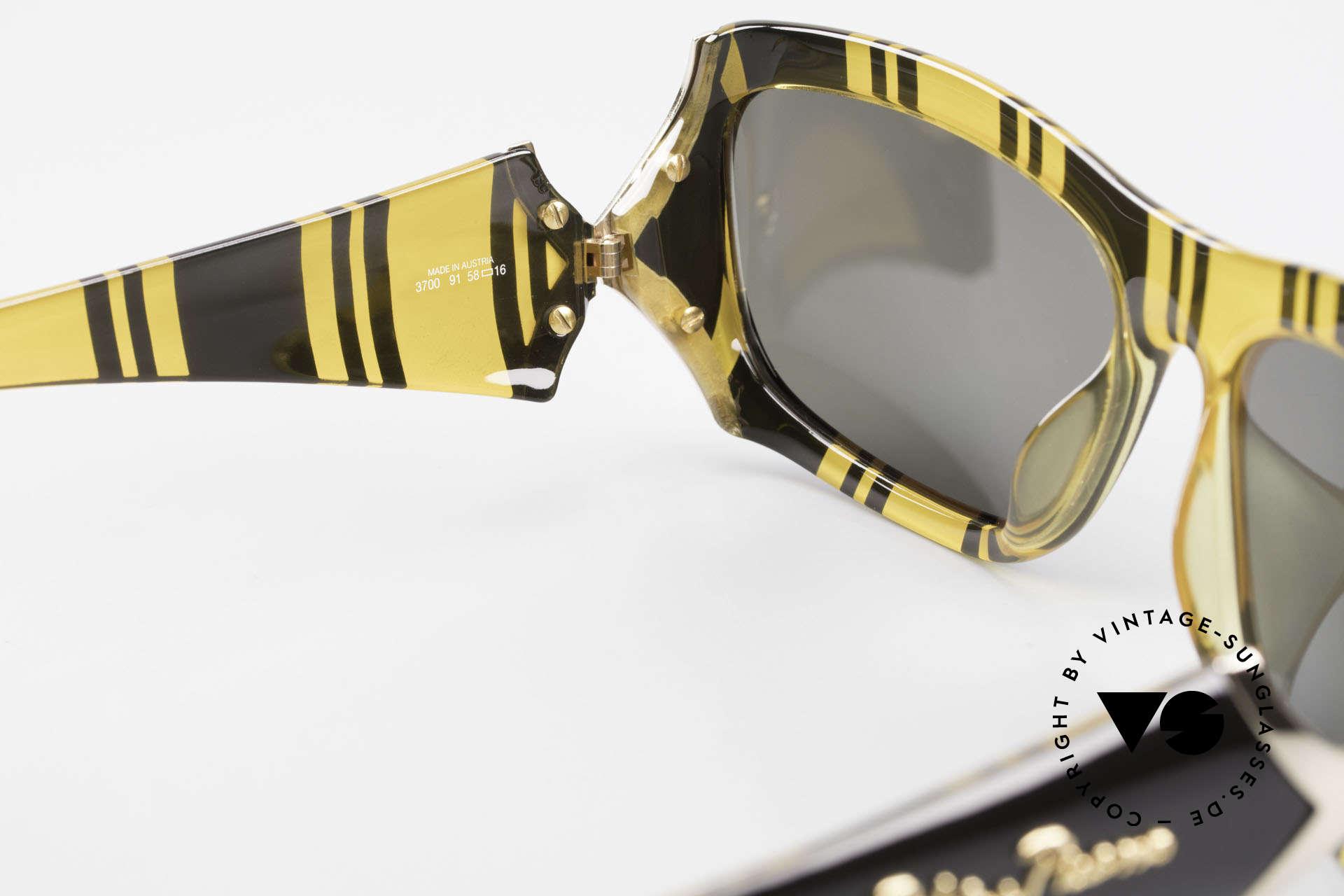 Paloma Picasso 3700 Designer Damen Sonnenbrille, Keine Reproduktion, sondern ein stolzes Original!, Passend für Damen