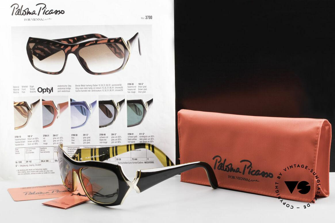 Paloma Picasso 3700 Designer Damen Sonnenbrille, Größe: small, Passend für Damen