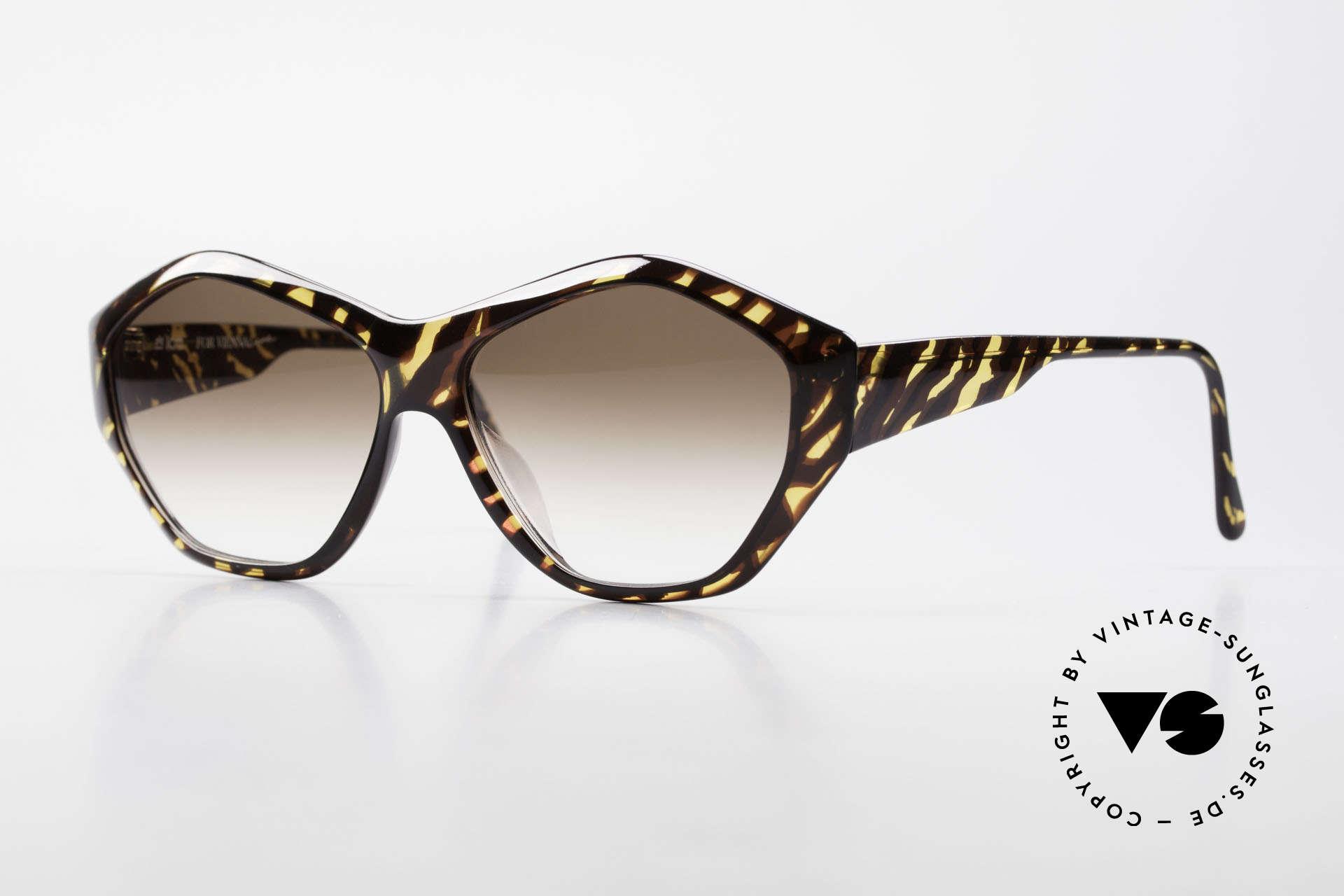 Paloma Picasso 1463 90er Optyl Sonnenbrille Damen, Damen Designer-Sonnenbrille von Paloma Picasso, Passend für Damen