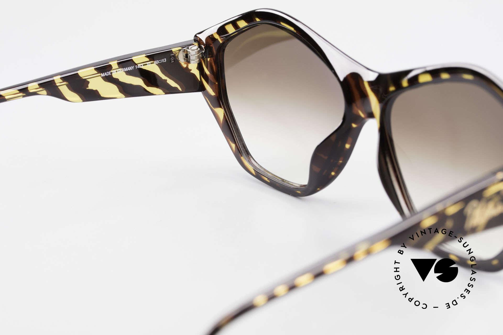 Paloma Picasso 1463 90er Optyl Sonnenbrille Damen, ungetragen; wie alle unsere 90er vintage 'Schätze', Passend für Damen
