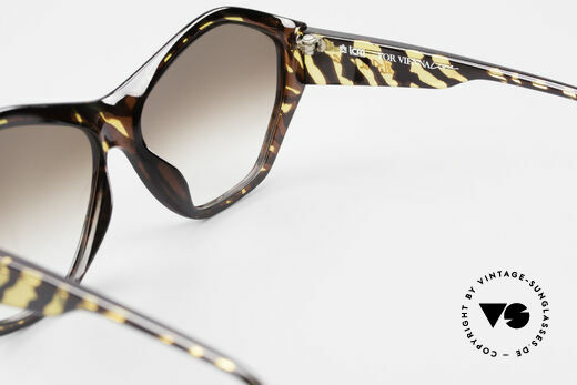 Paloma Picasso 1463 90er Optyl Sonnenbrille Damen, Keine Reproduktion, sondern ein stolzes Original!, Passend für Damen
