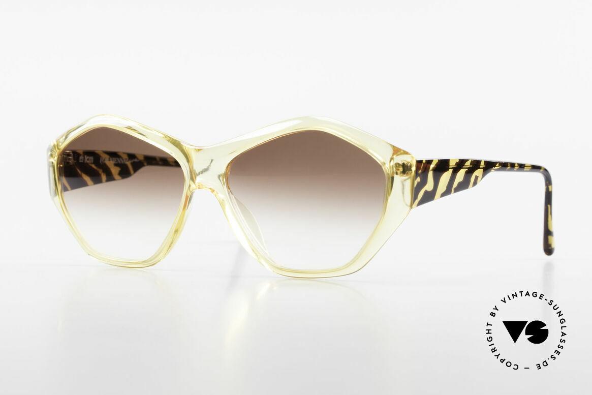 Paloma Picasso 1463 Optyl Sonnenbrille 90er Damen, Damen Designer-Sonnenbrille von Paloma Picasso, Passend für Damen