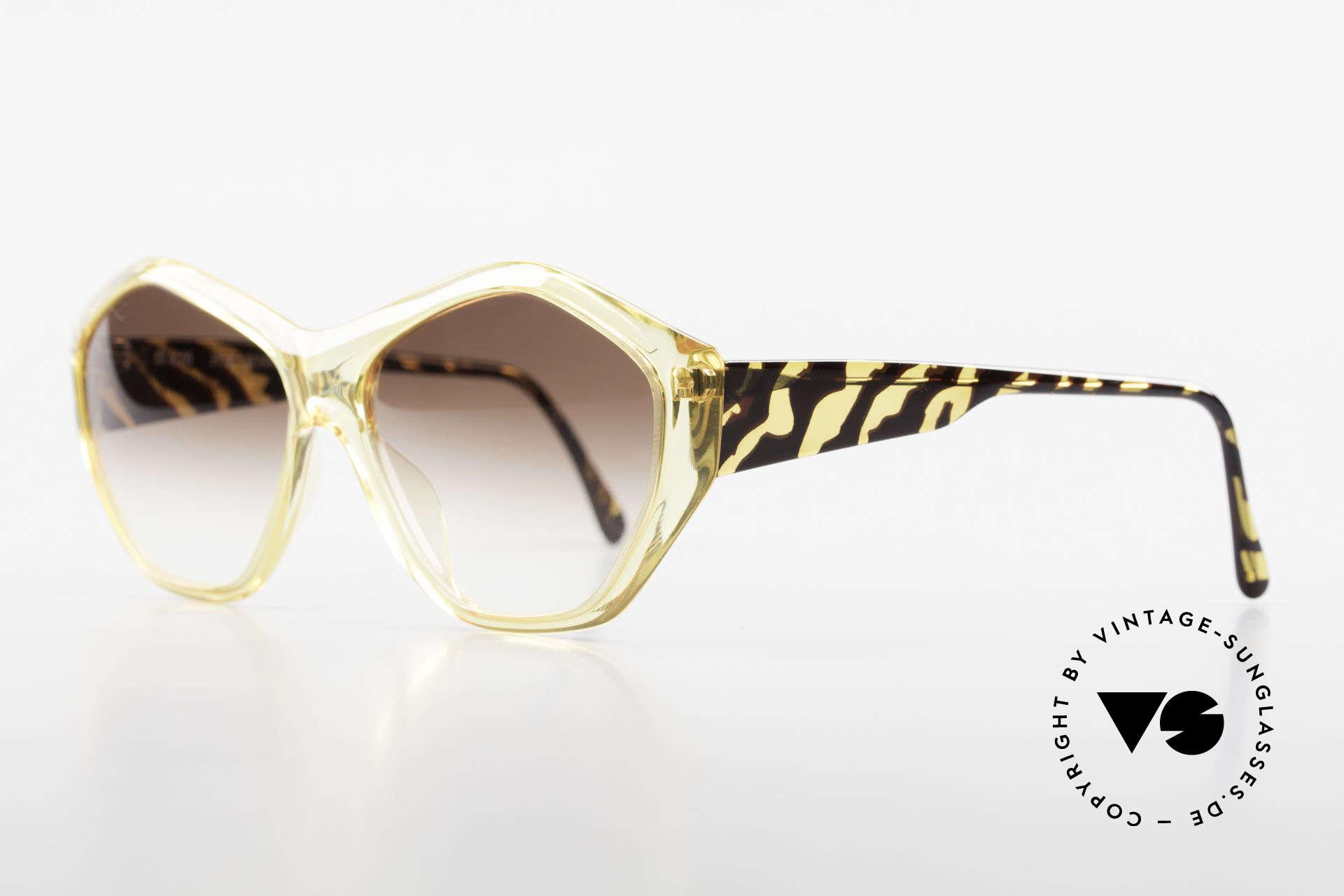 Paloma Picasso 1463 Optyl Sonnenbrille 90er Damen, noch ein Meisterwerk vom Künstler-Haus Picasso!, Passend für Damen