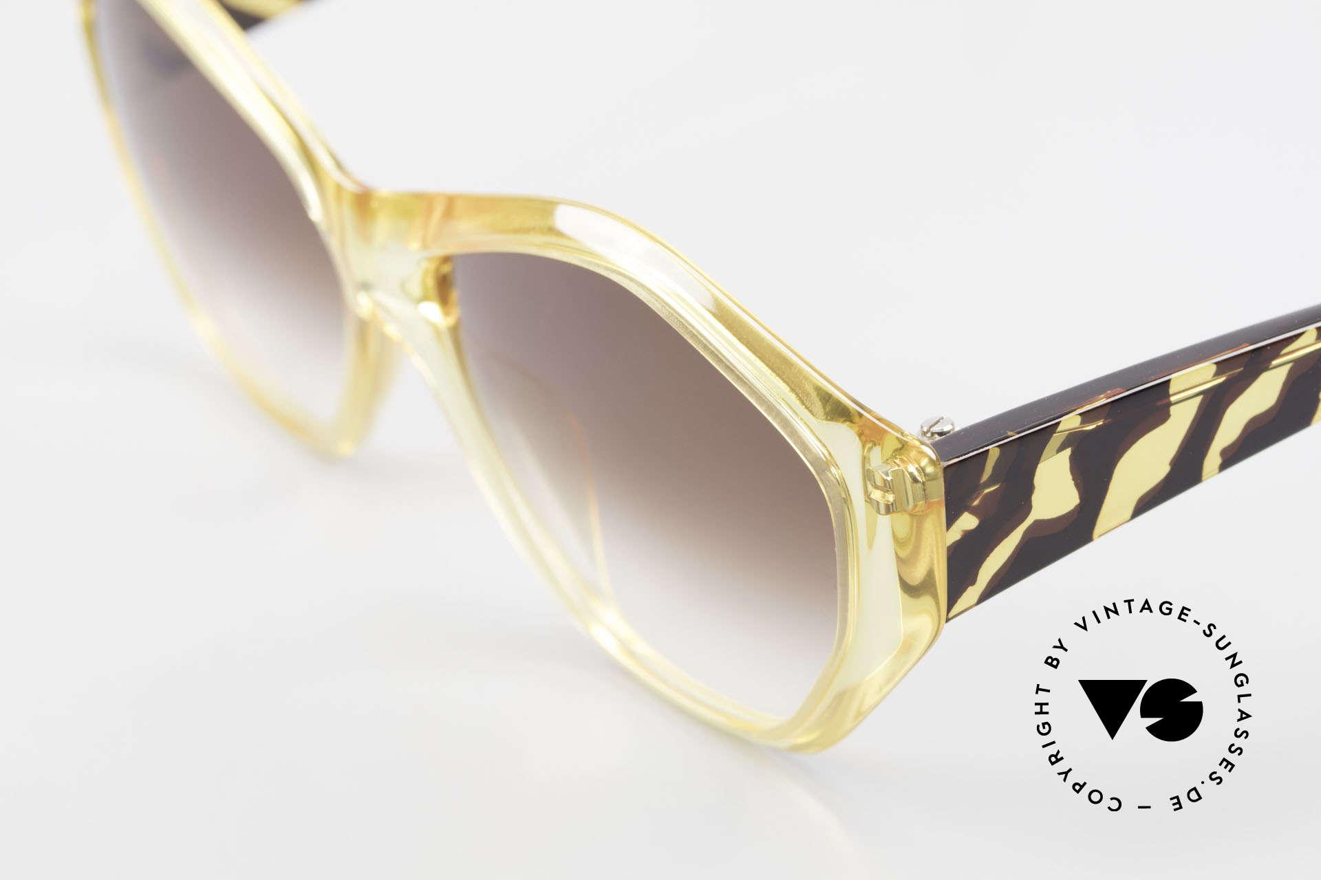 Paloma Picasso 1463 Optyl Sonnenbrille 90er Damen, von 1990, doch das Optyl-Material glänzt wie neu, Passend für Damen