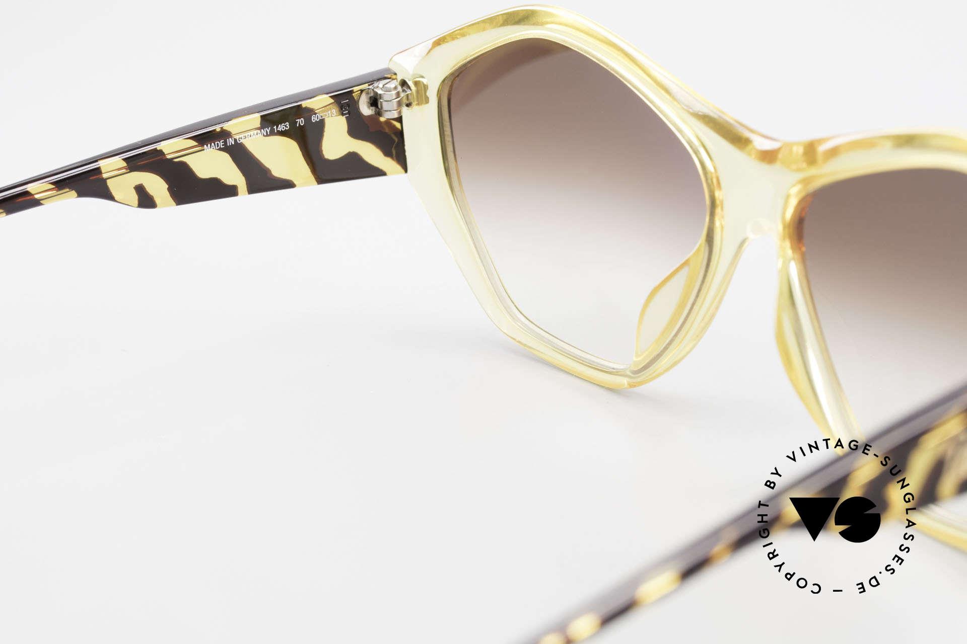 Paloma Picasso 1463 Optyl Sonnenbrille 90er Damen, ungetragen; wie alle unsere 90er vintage 'Schätze', Passend für Damen
