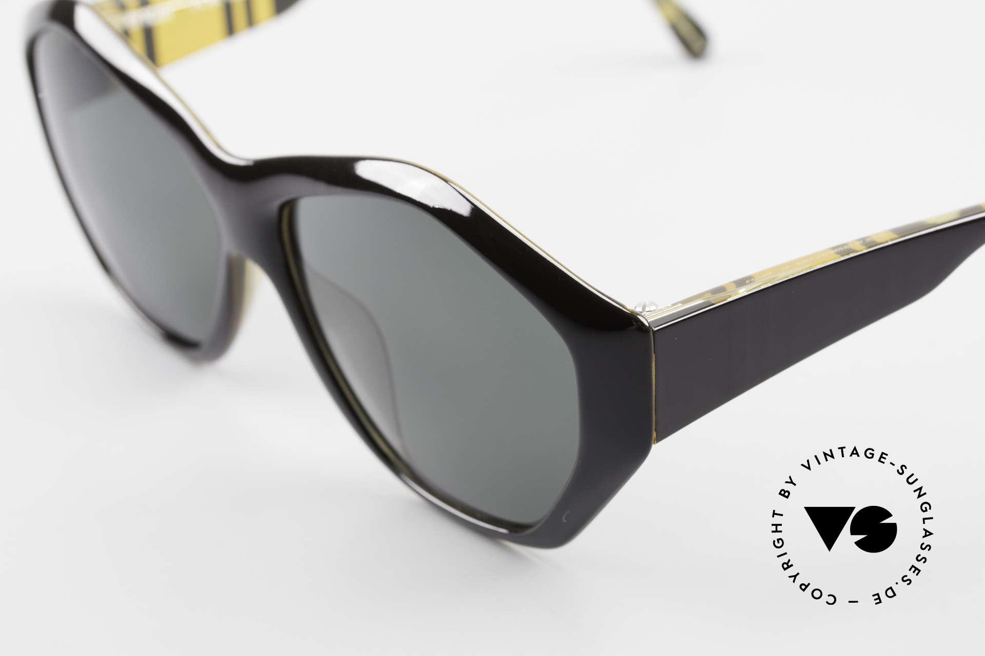 Paloma Picasso 1463 90er Damen Sonnenbrille Optyl, von 1990, doch das Optyl-Material glänzt wie neu, Passend für Damen