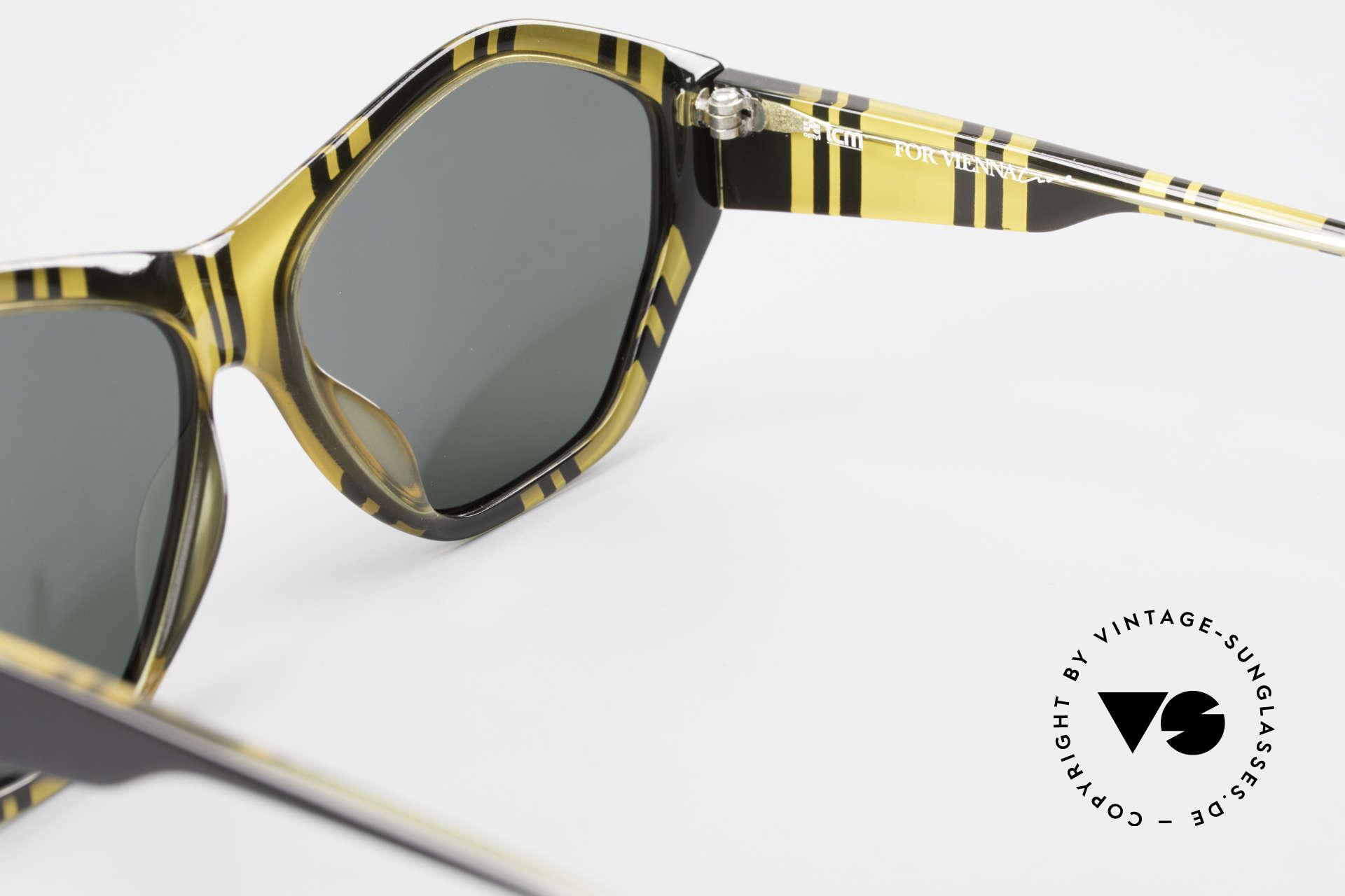 Paloma Picasso 1463 90er Damen Sonnenbrille Optyl, Keine Reproduktion, sondern ein stolzes Original!, Passend für Damen