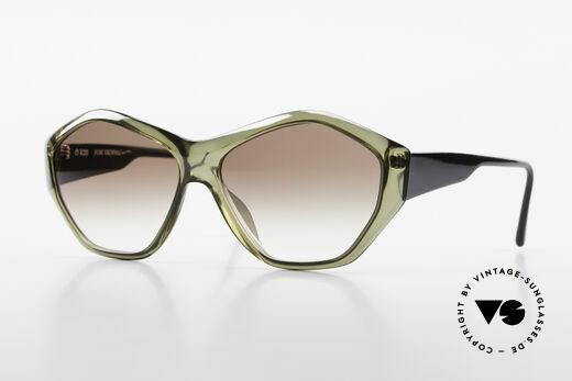 Paloma Picasso 1463 90er Optyl Damen Sonnenbrille Details