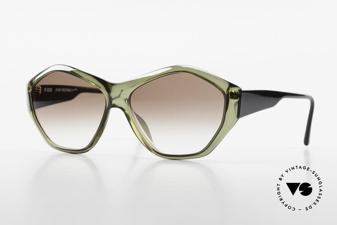 Paloma Picasso 1463 90er Optyl Damen Sonnenbrille, Damen Designer-Sonnenbrille von Paloma Picasso, Passend für Damen
