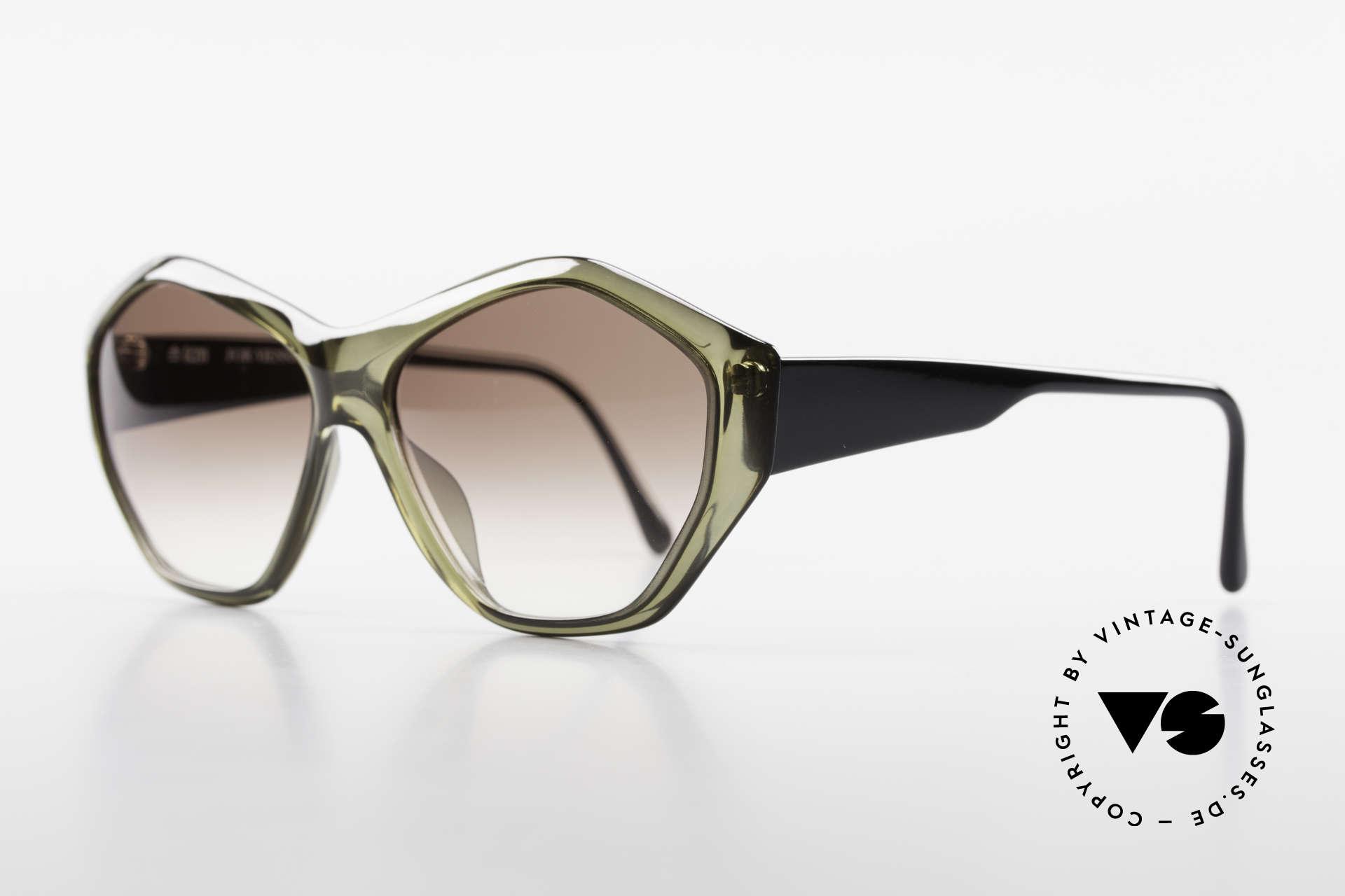 Paloma Picasso 1463 90er Optyl Damen Sonnenbrille, noch ein Meisterwerk vom Künstler-Haus Picasso!, Passend für Damen