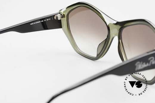 Paloma Picasso 1463 90er Optyl Damen Sonnenbrille, ungetragen; wie alle unsere 90er vintage 'Schätze', Passend für Damen