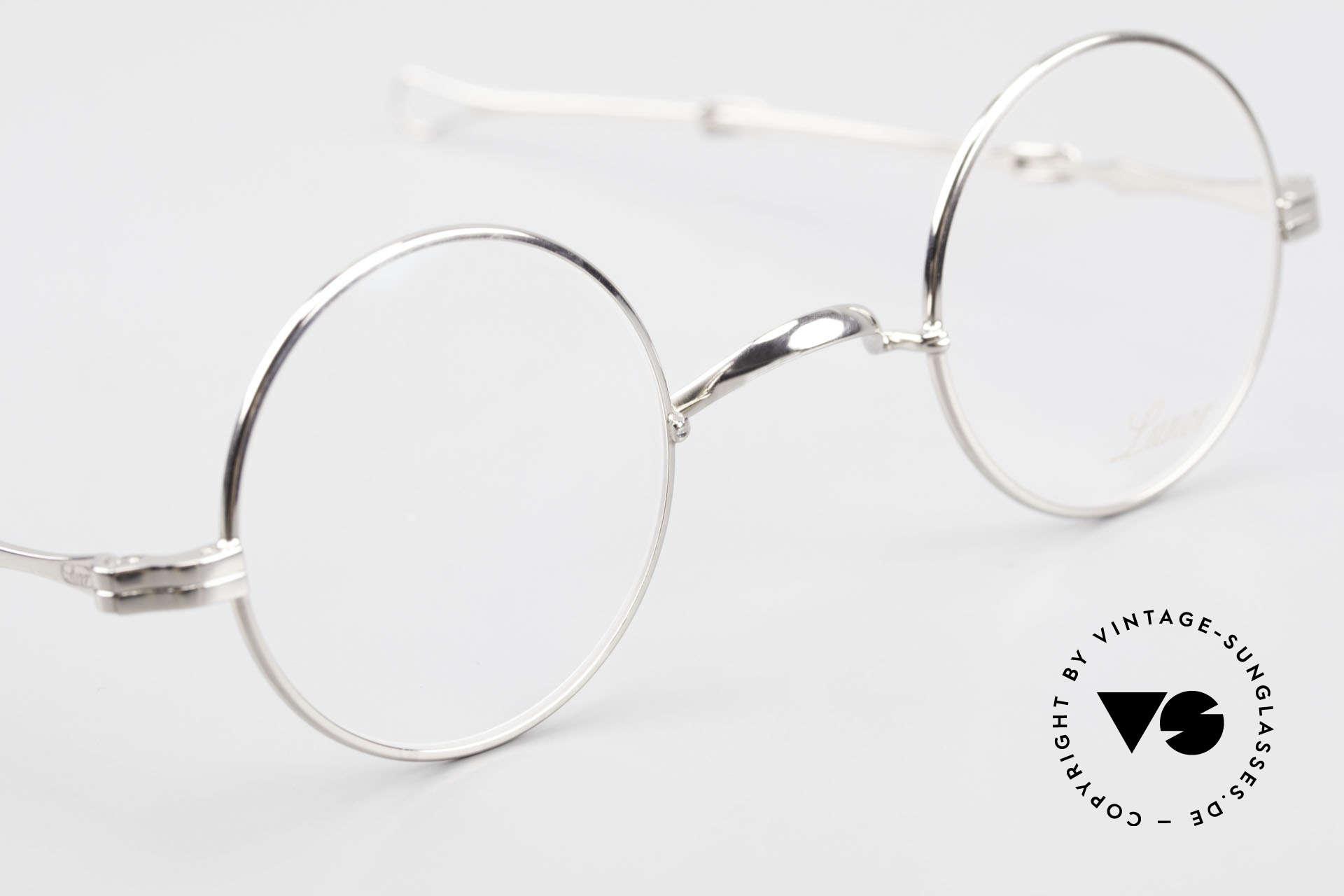 Lunor I 12 Telescopic Runde Schiebebügel Brille, sowie für ausziehbare Brillenbügel (= teleskopartig), Passend für Herren und Damen