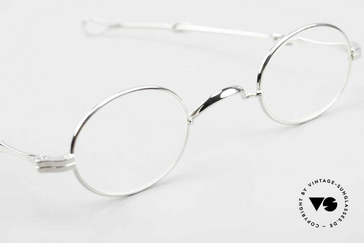 Lunor I 04 Telescopic Ovale Schiebebügel Brille XS, sowie für ausziehbare Brillenbügel (= teleskopartig), Passend für Herren und Damen