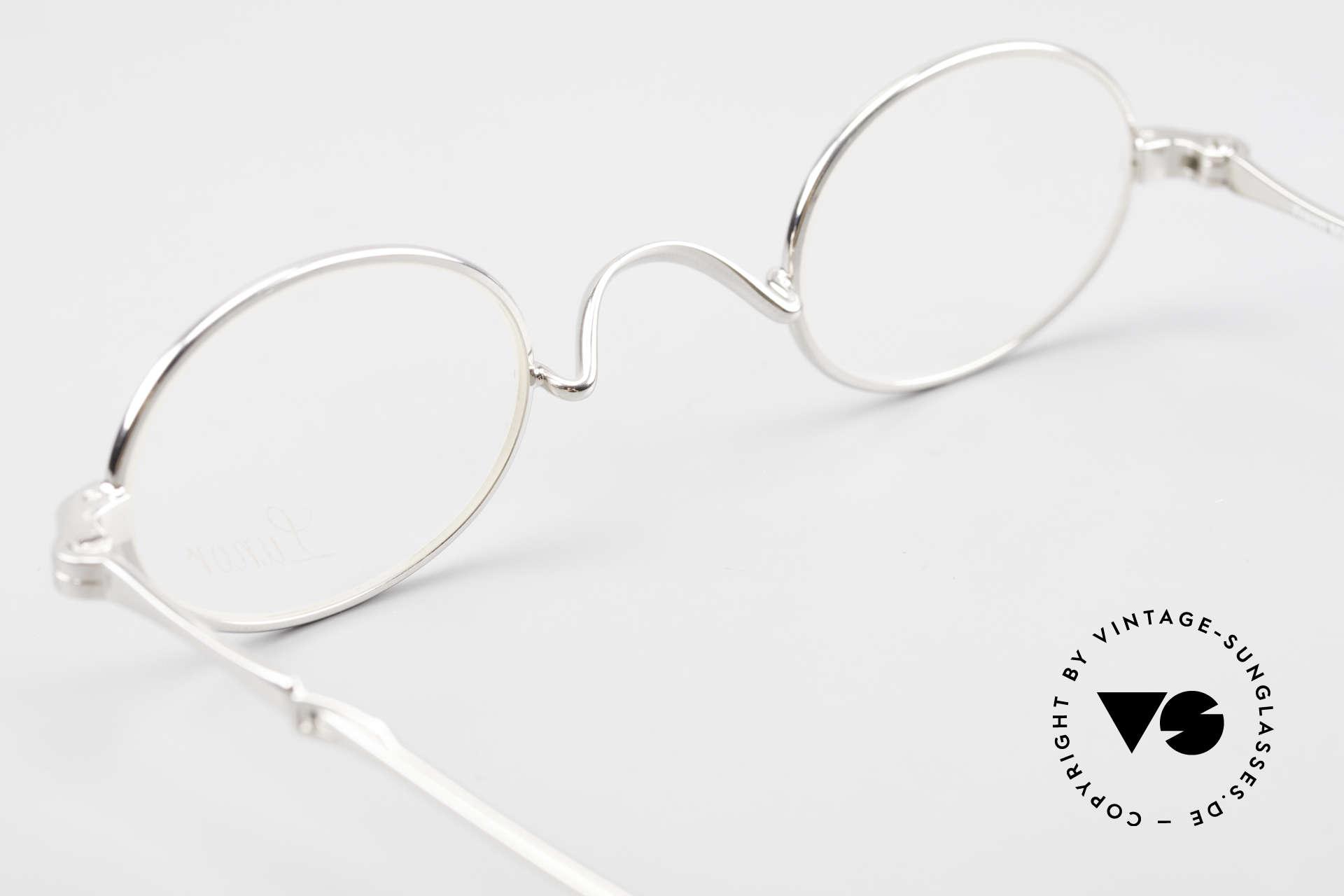 Lunor I 04 Telescopic Ovale Schiebebügel Brille XS, Größe: extra small, Passend für Herren und Damen