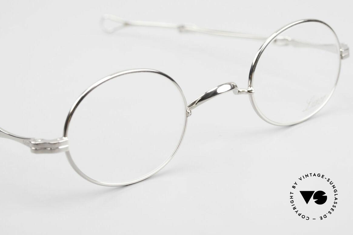 Lunor I 10 Telescopic Ovale Teleskop Brille Vintage, sowie für ausziehbare Brillenbügel (= teleskopartig), Passend für Herren und Damen