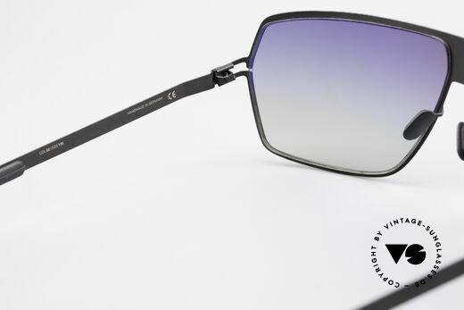 Mykita Rock No1 Herren Sonnenbrille 2009, getragen von zahlreichen Promis und inzwischen selten, Passend für Herren