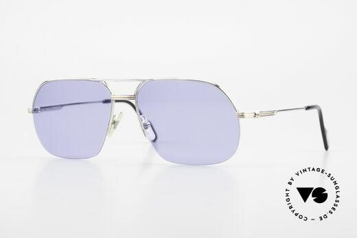 Cartier Orsay Halbrand Luxus Sonnenbrille Details