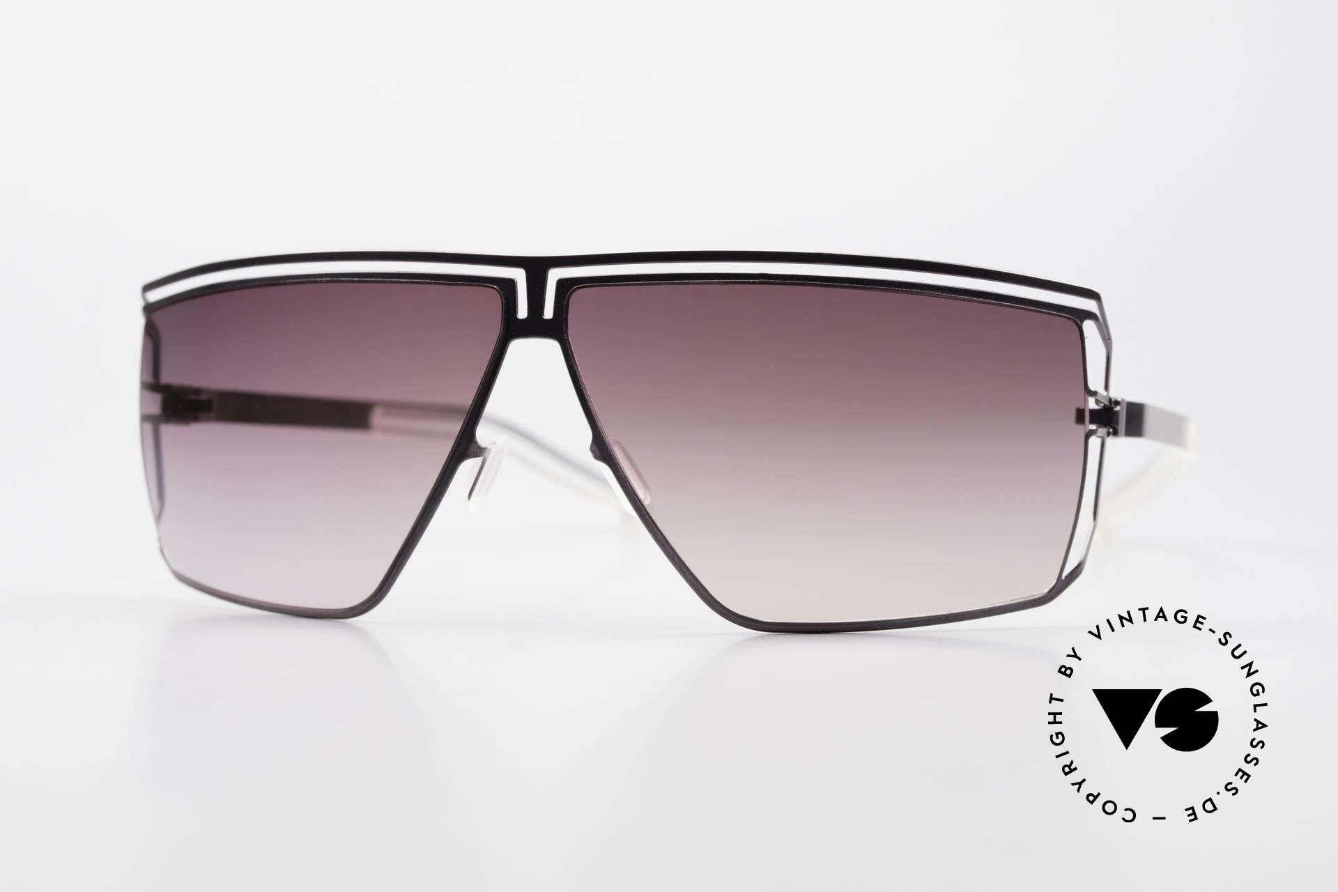 Mykita Anais Designer Sonnenbrille von 2007, original VINTAGE Mykita Damen-Sonnenbrille von 2007, Passend für Damen