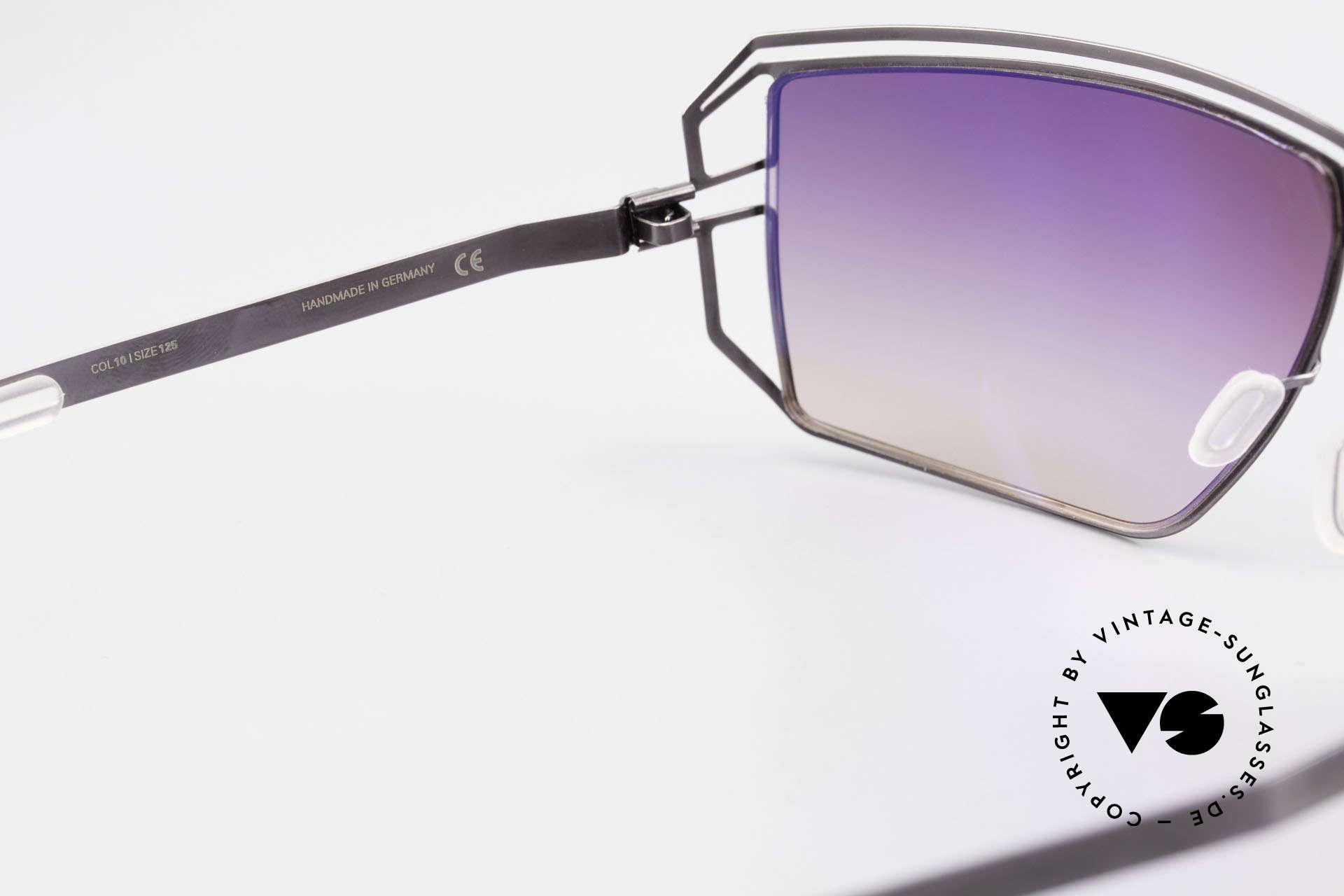 Mykita Anais Designer Sonnenbrille von 2007, getragen von zahlreichen Promis und inzwischen selten, Passend für Damen