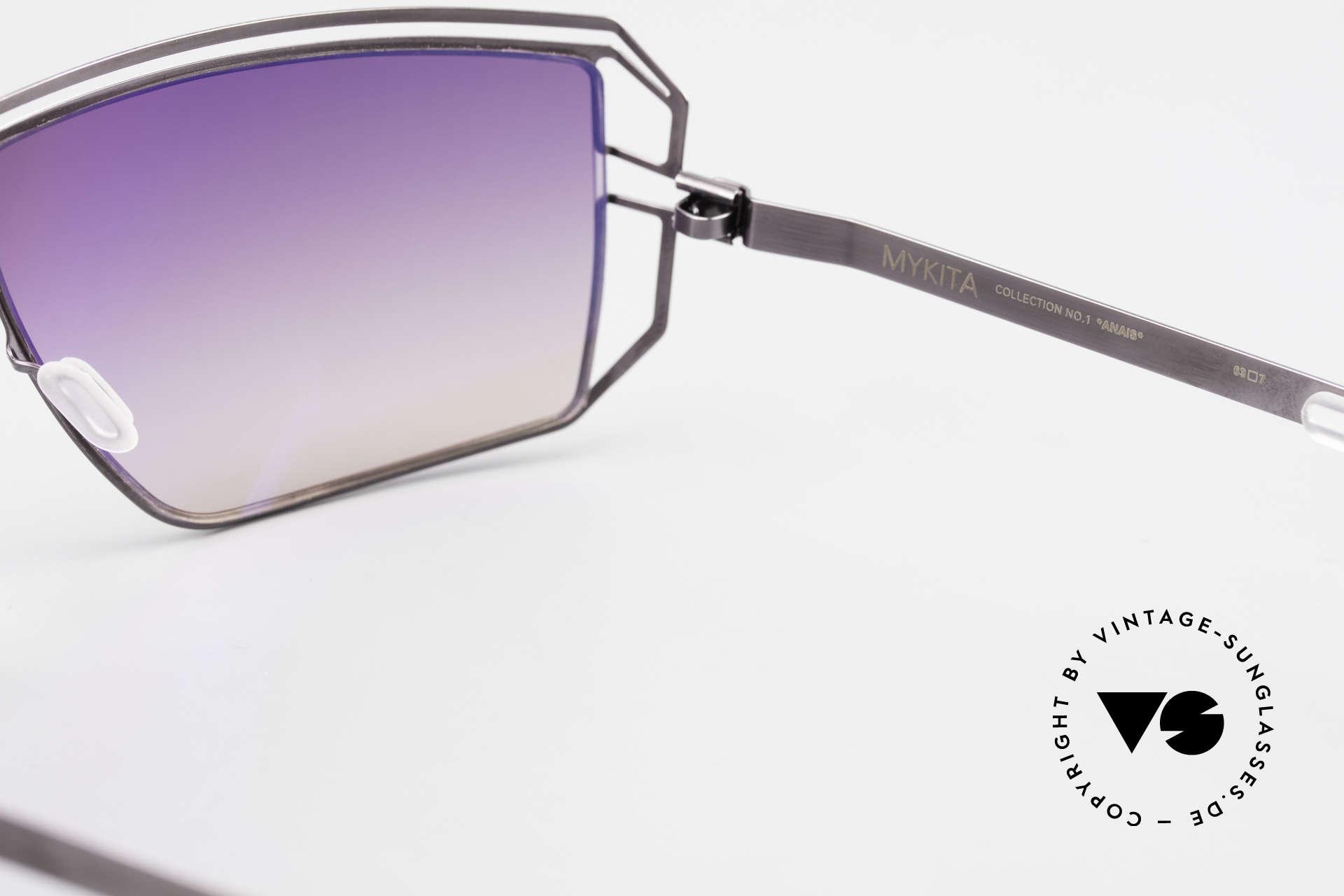 Mykita Anais Designer Sonnenbrille von 2007, daher jetzt bei uns (natürlich ungetragen und mit Etui), Passend für Damen