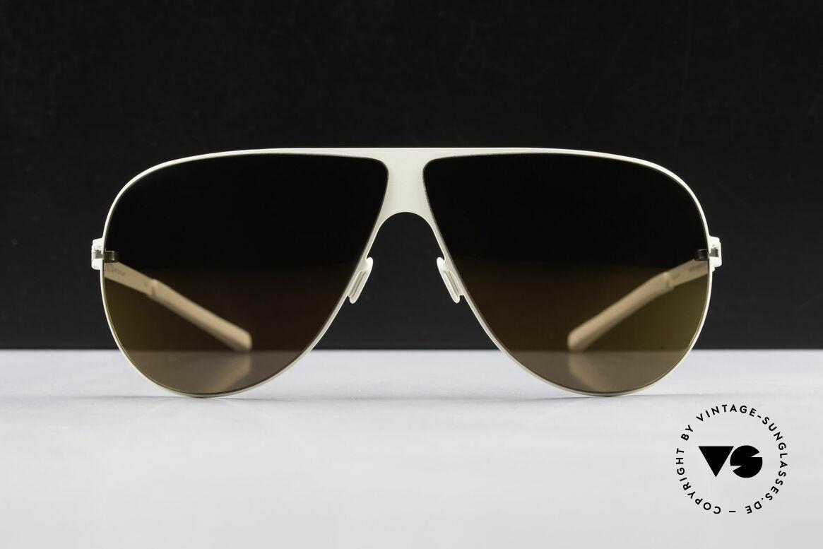 Mykita Elliot Tom Cruise Mykita Sonnenbrille, innovativ flexible Metallfassung: eine Größe passt allen, Passend für Herren