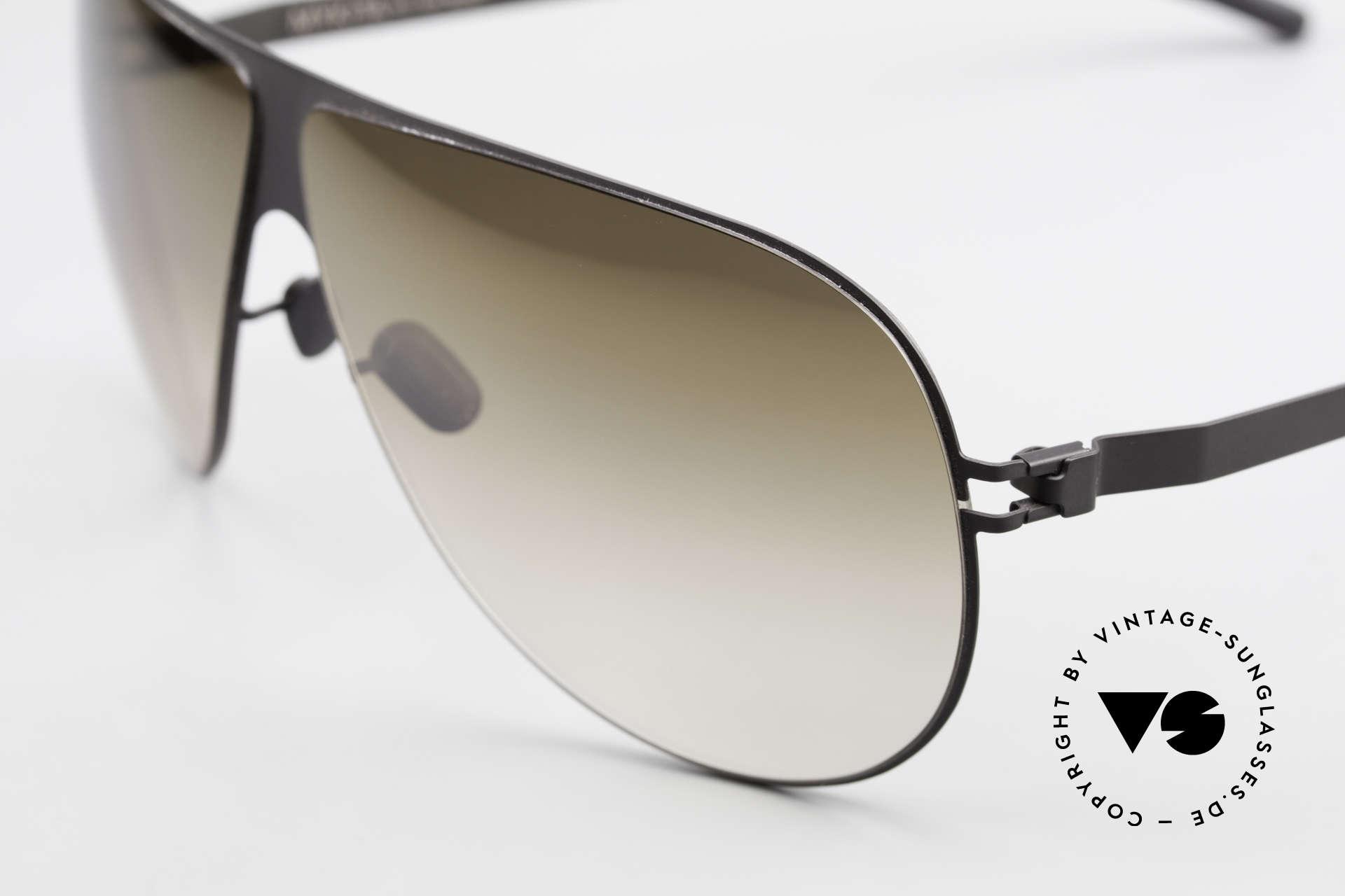 Mykita Elliot Mykita Tom Cruise Sonnenbrille, innovativ flexible Metallfassung: eine Größe passt allen, Passend für Herren