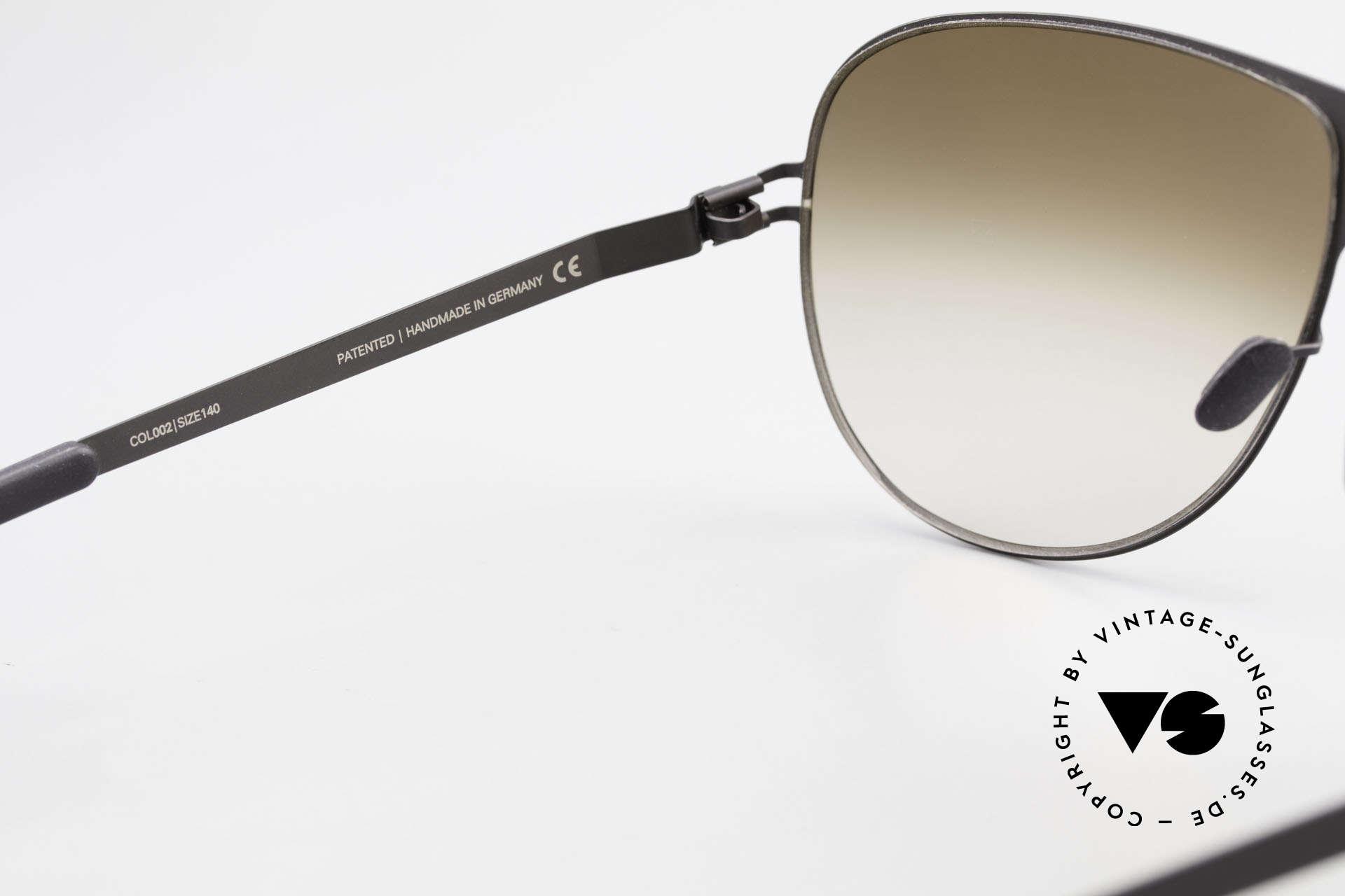 Mykita Elliot Mykita Tom Cruise Sonnenbrille, getragen von Tom Cruise (2011) und inzwischen selten, Passend für Herren