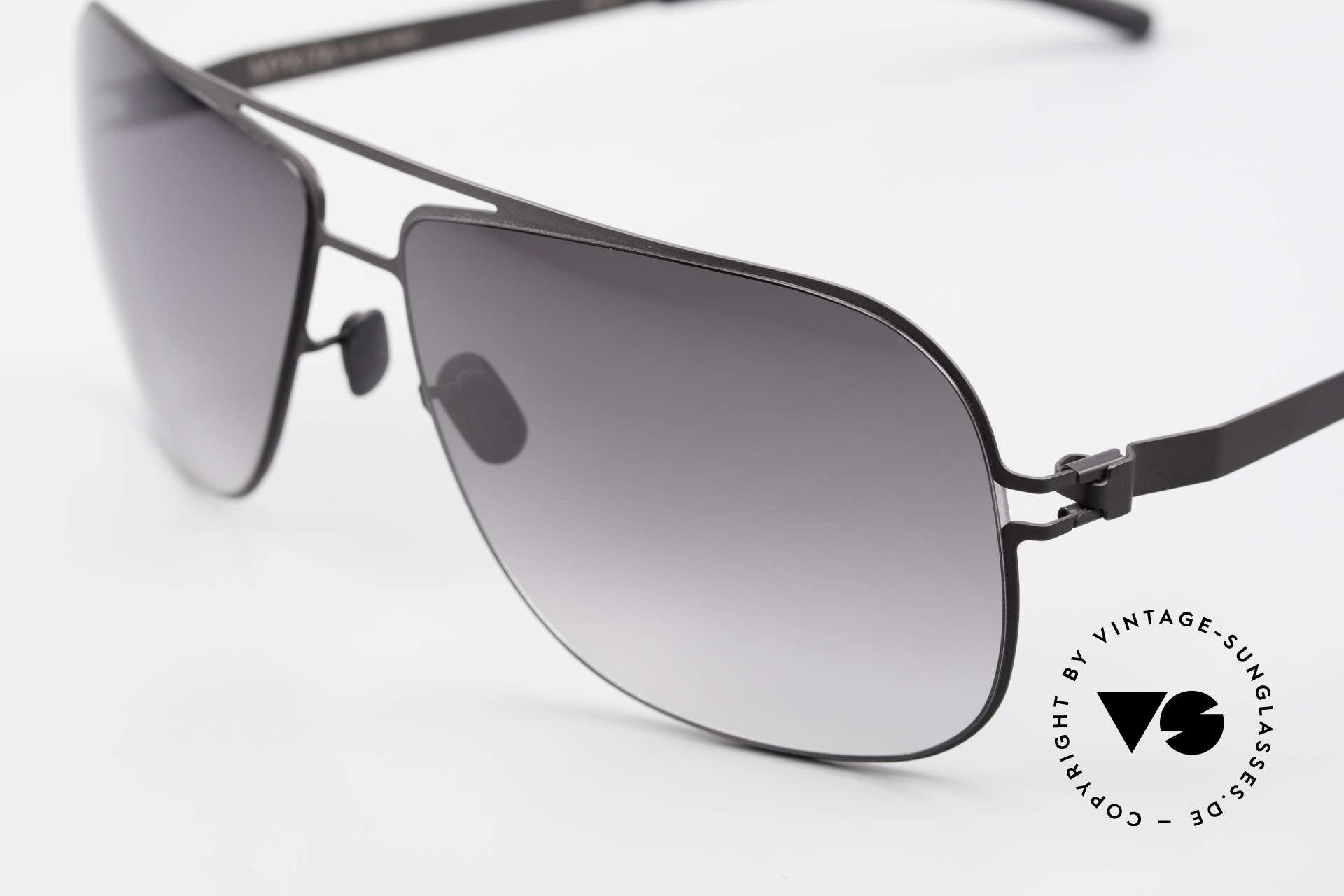 Mykita Rolf Brad Pitt Mykita Sonnenbrille, innovativ flexible Metallfassung: eine Größe passt allen, Passend für Herren und Damen